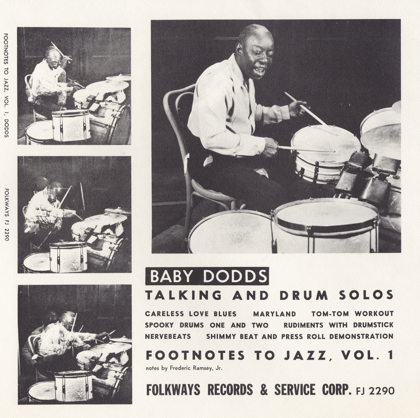 The Birth Of An Icon Learning And Performing Origins 1 Set Drum Band Baby Dodds Talking Solos