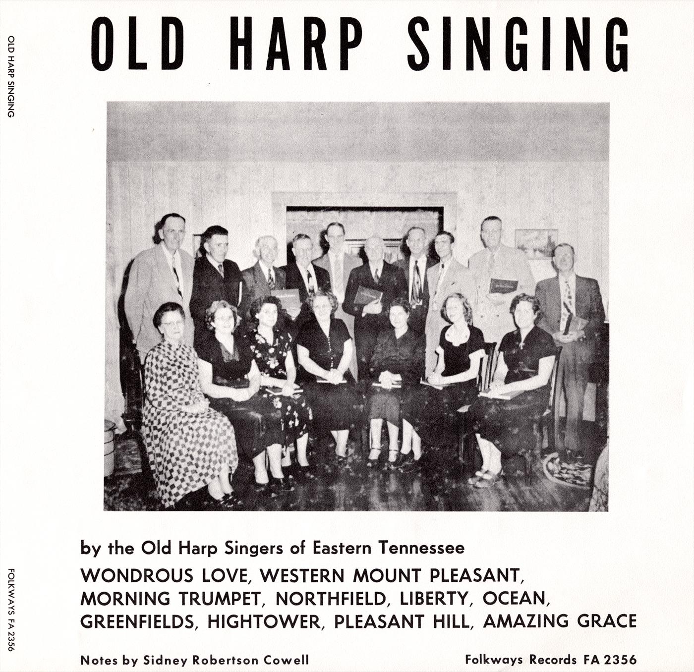 Old Harp Singing | Smithsonian Folkways Recordings