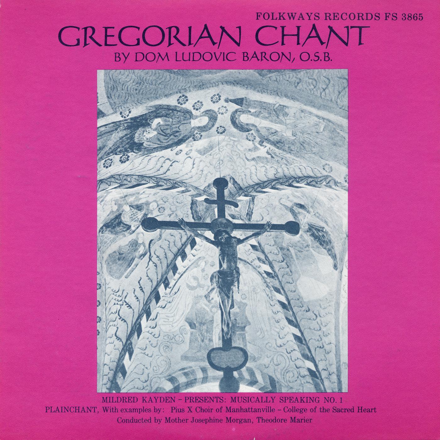 Gregorian Chant: Musically Speaking No 1   Smithsonian Folkways