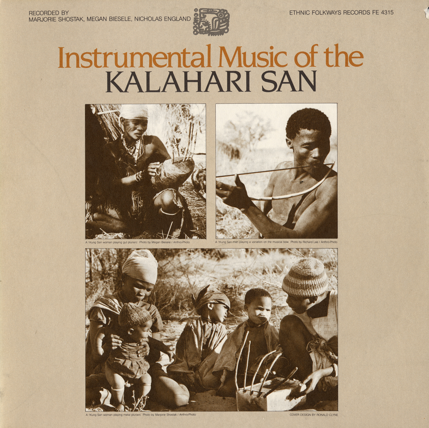 Instrumental Music of the Kalahari San | Smithsonian