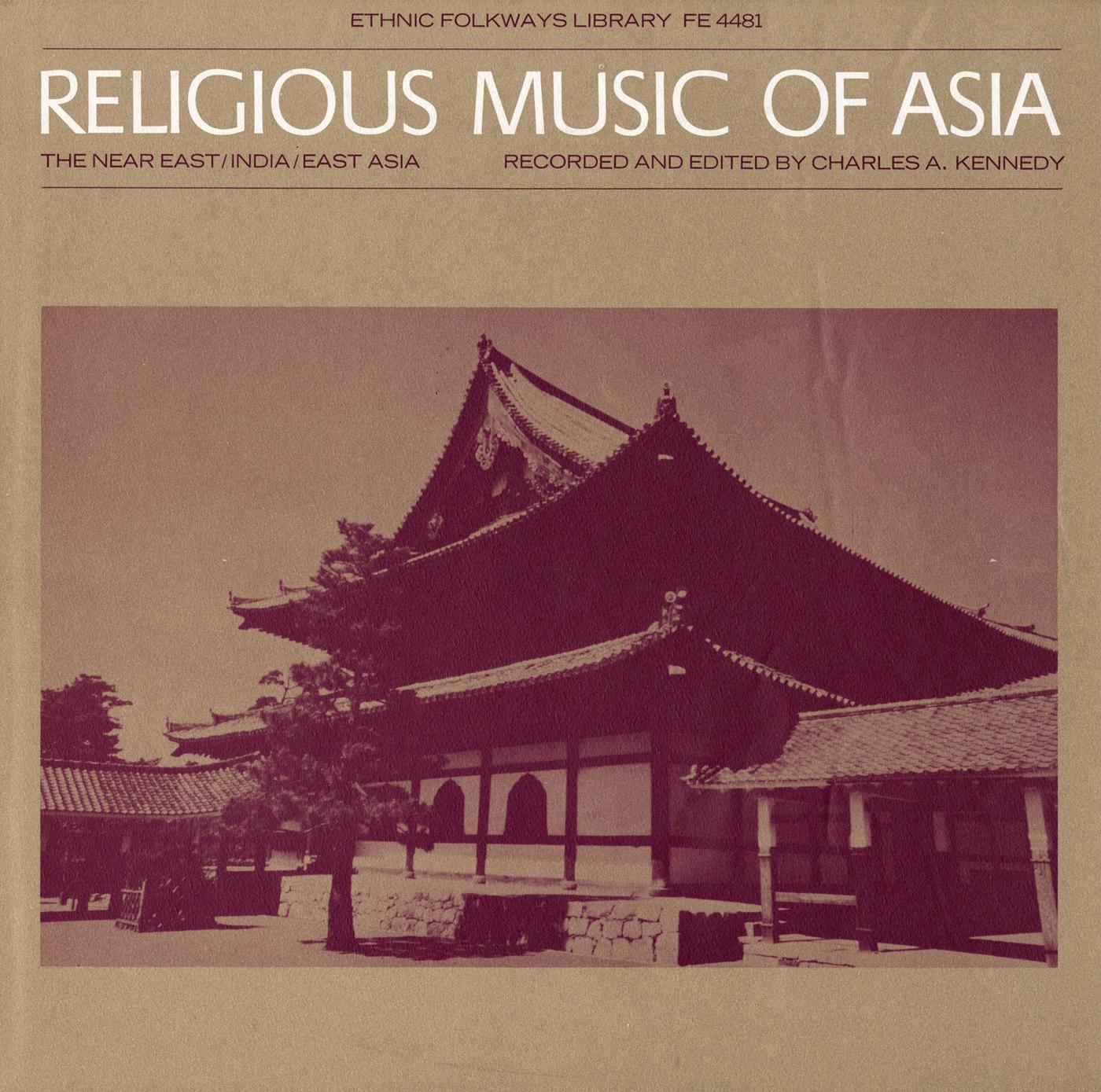 Religious Music of Asia | Smithsonian Folkways Recordings