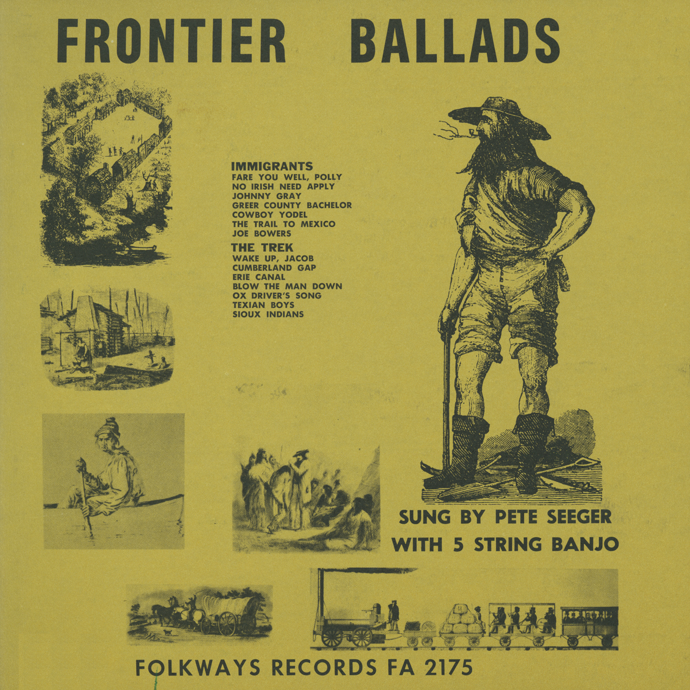 Frontier Ballads   Smithsonian Folkways Recordings