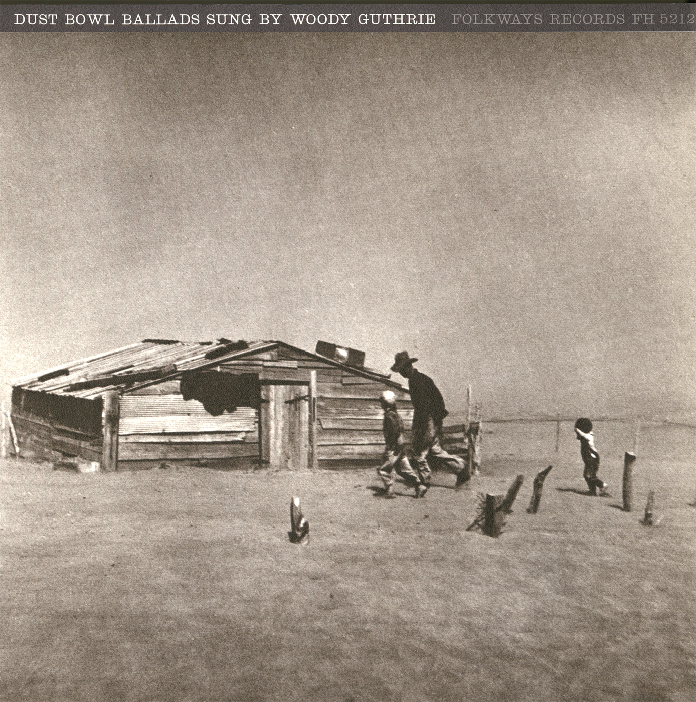 Dust Bowl Ballads Smithsonian Folkways Recordings