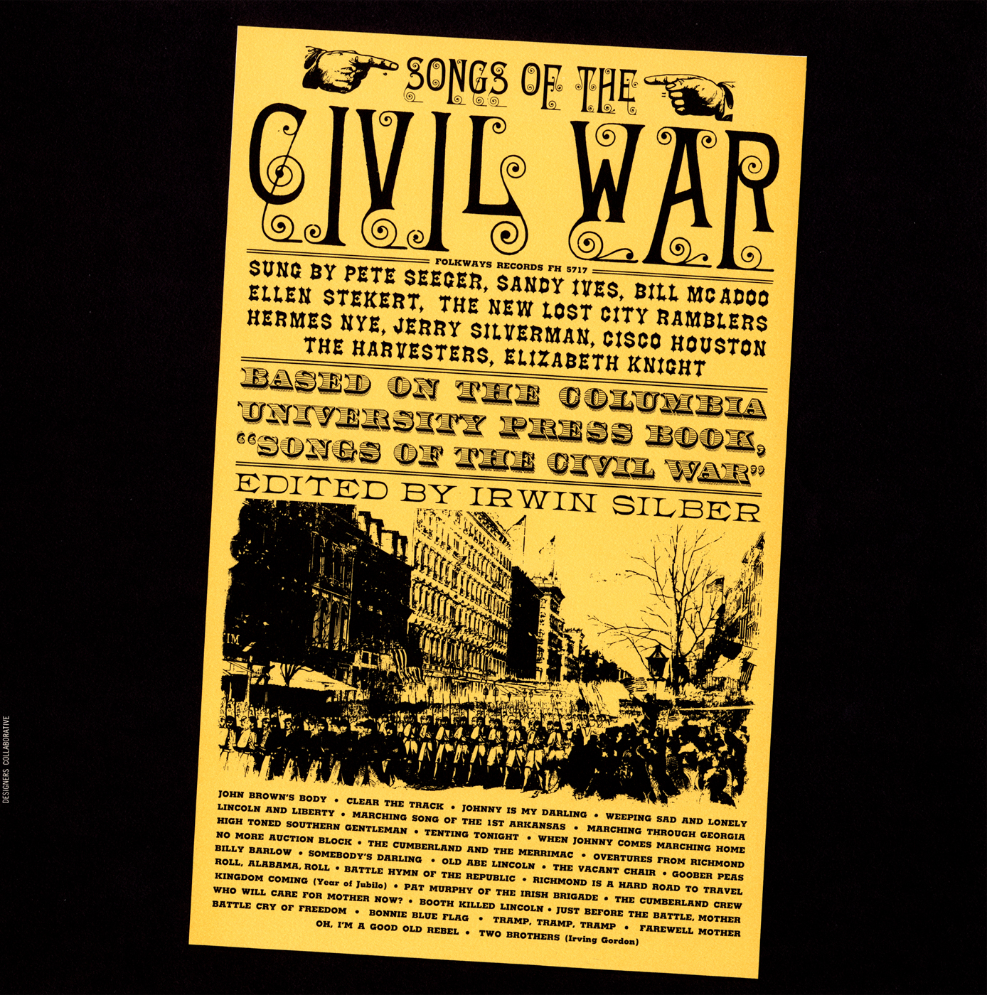 Songs Of The Civil War Smithsonian Folkways Recordings