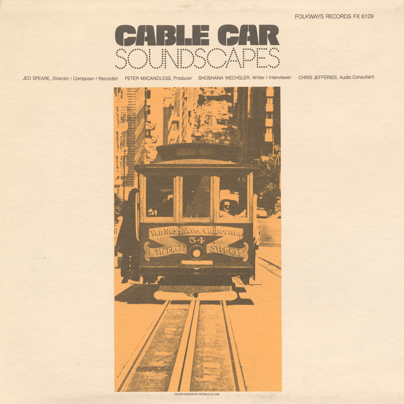 Cable Car Soundscapes | Smithsonian Folkways Recordings