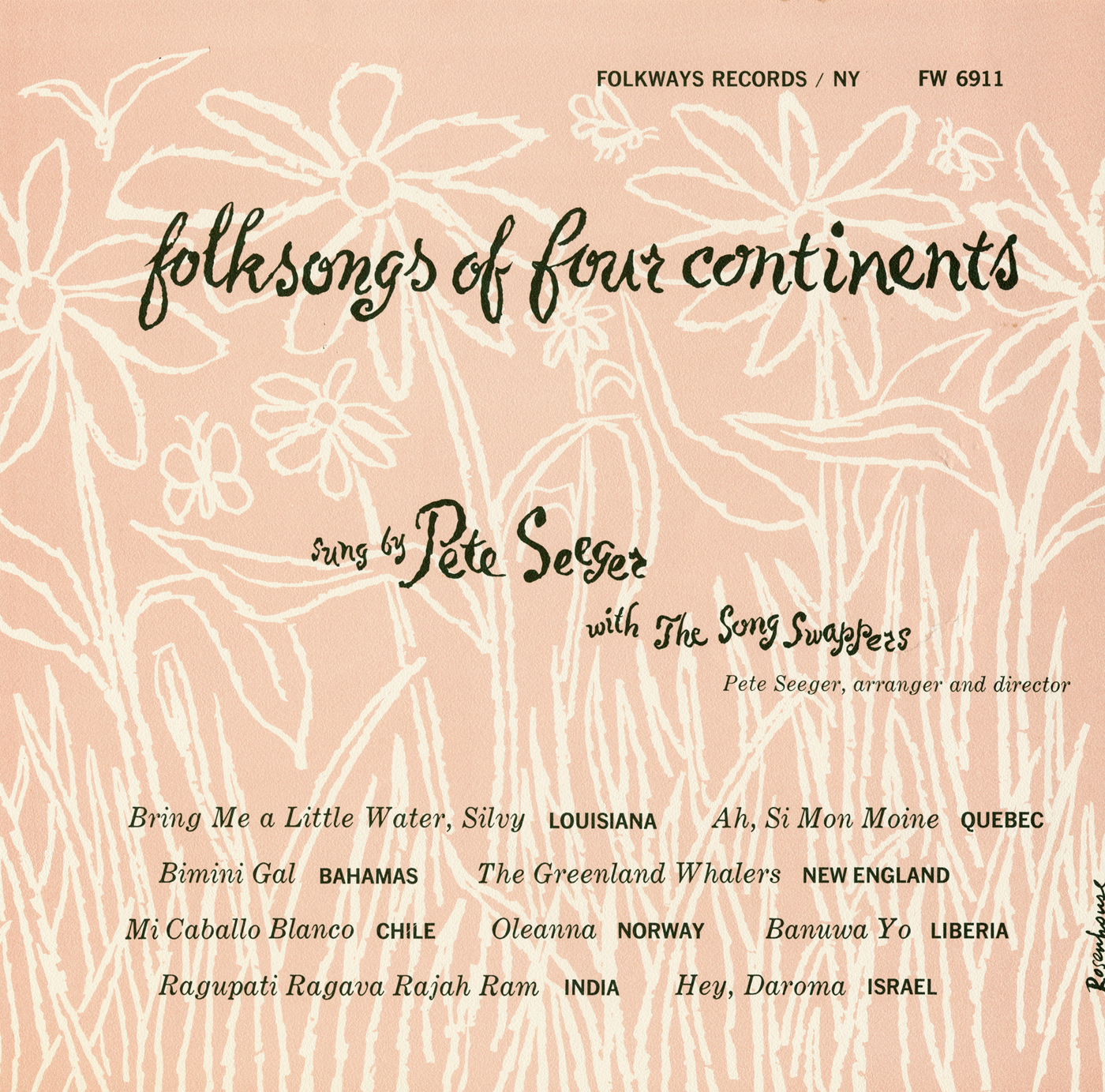 Smithsonian folkways the power of pete seegers songs and stories album cover stopboris Images