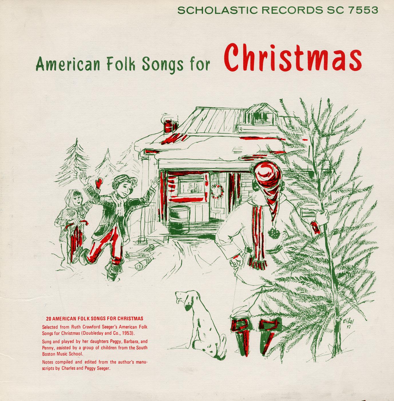 american folk songs for christmas smithsonian folkways. Black Bedroom Furniture Sets. Home Design Ideas