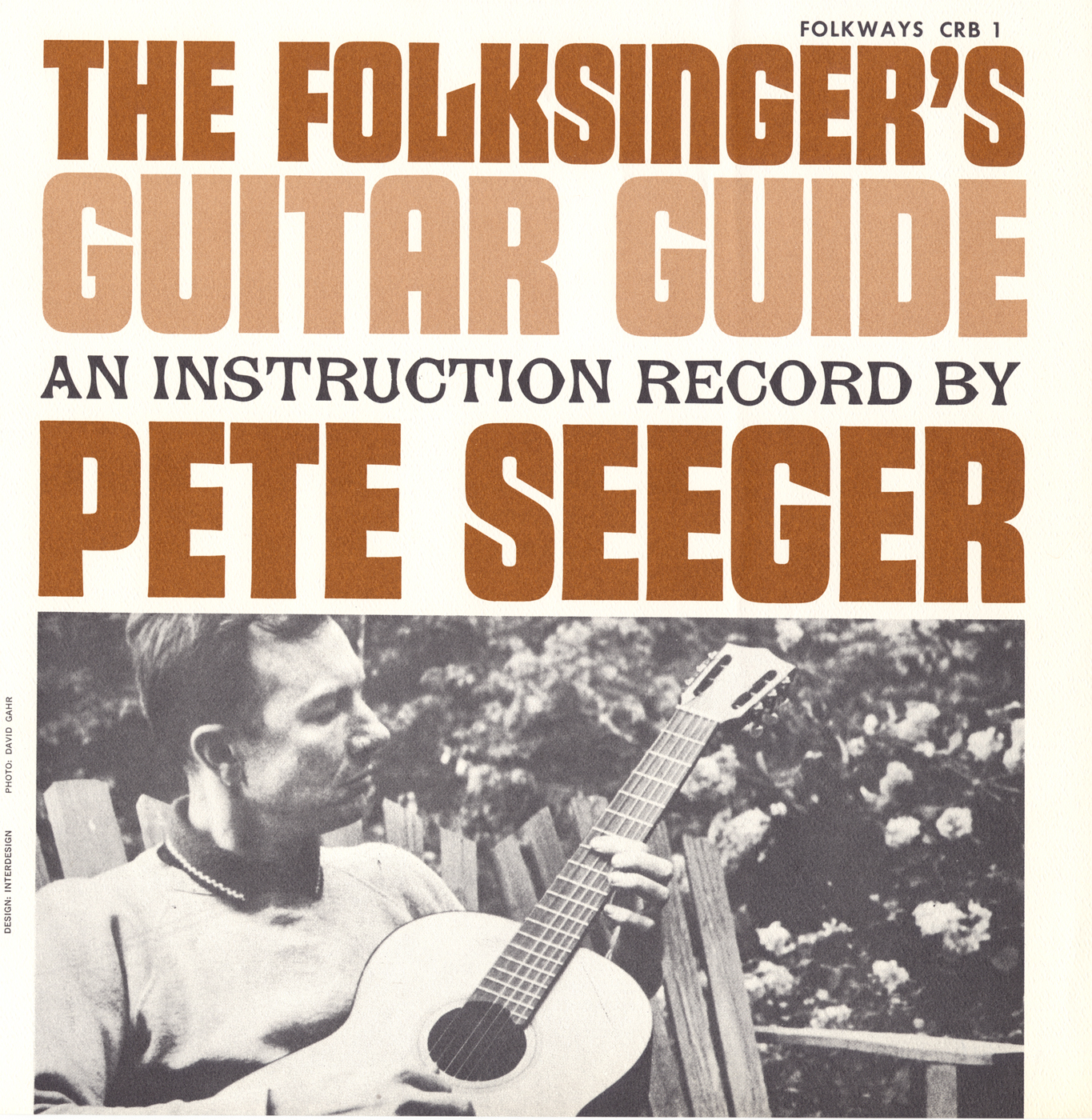 Folksingers Guitar Guide Vol 1 An Instruction Record