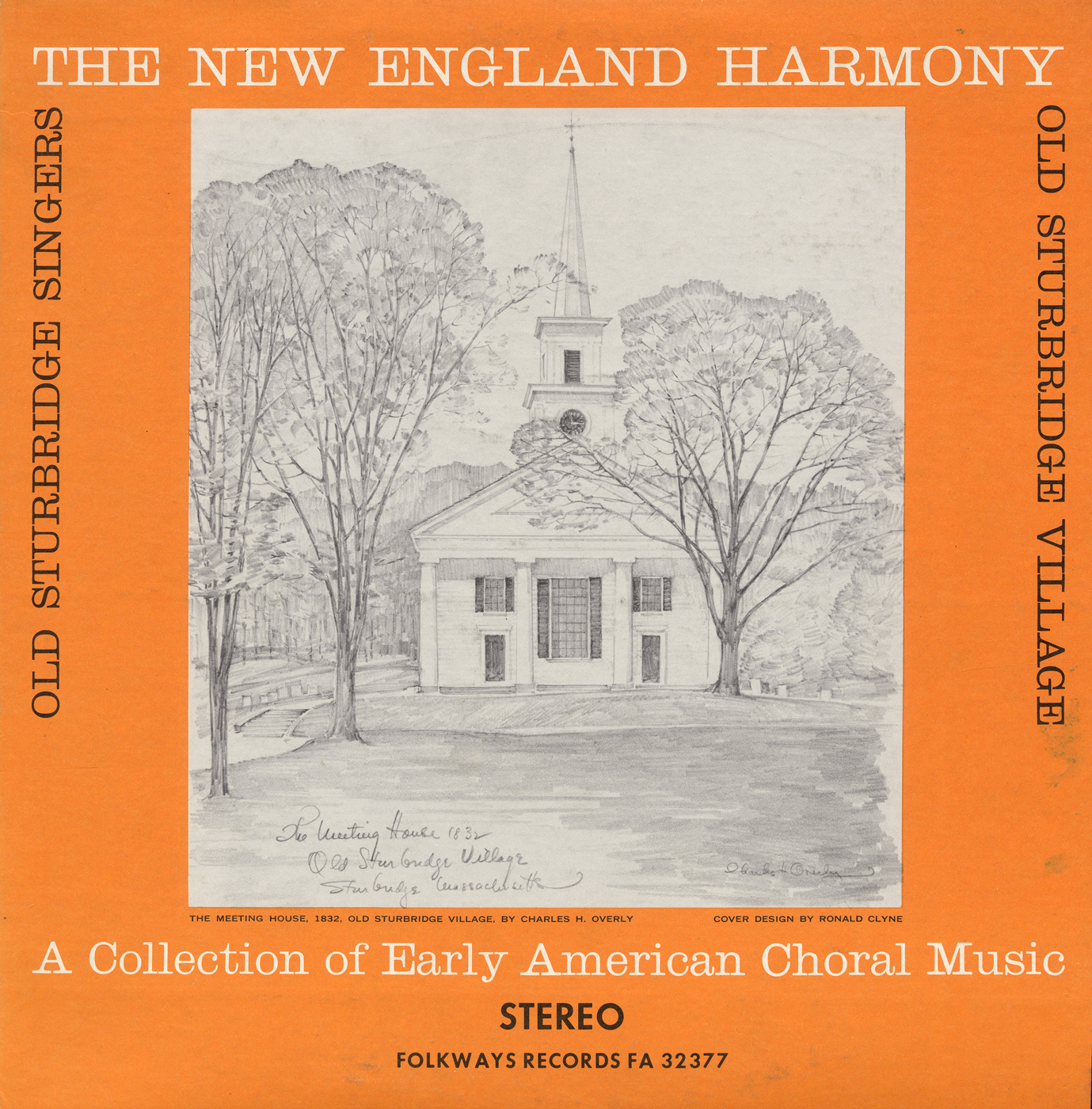 New England Harmony: A Collection of Early American Choral