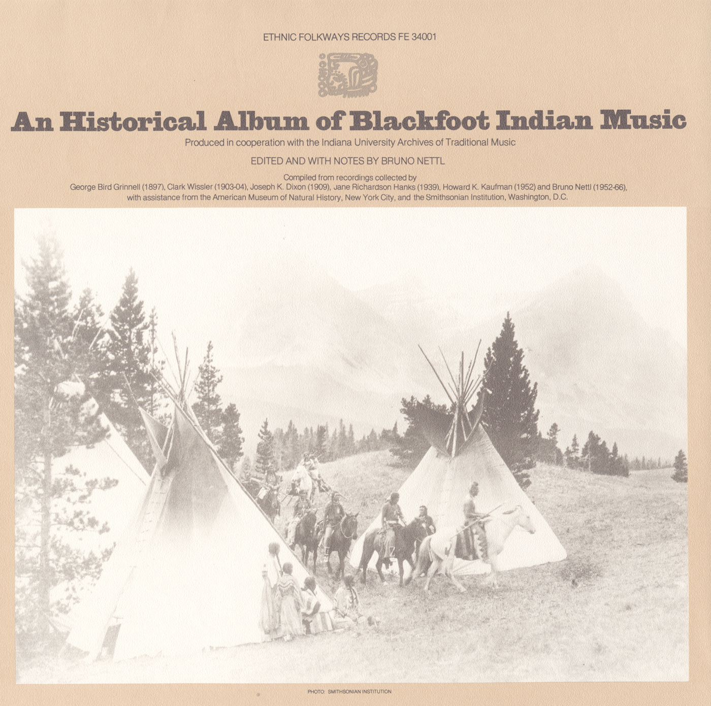 an essay on the blackfoot indians