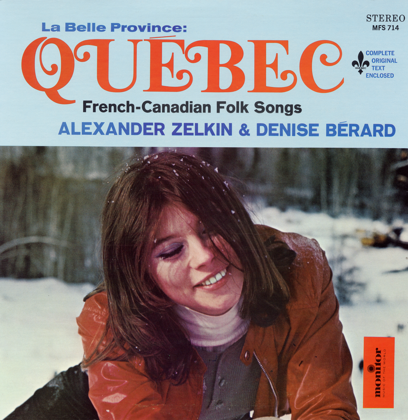 La Belle Province Québec: French-Canadian Folk Songs | Smithsonian