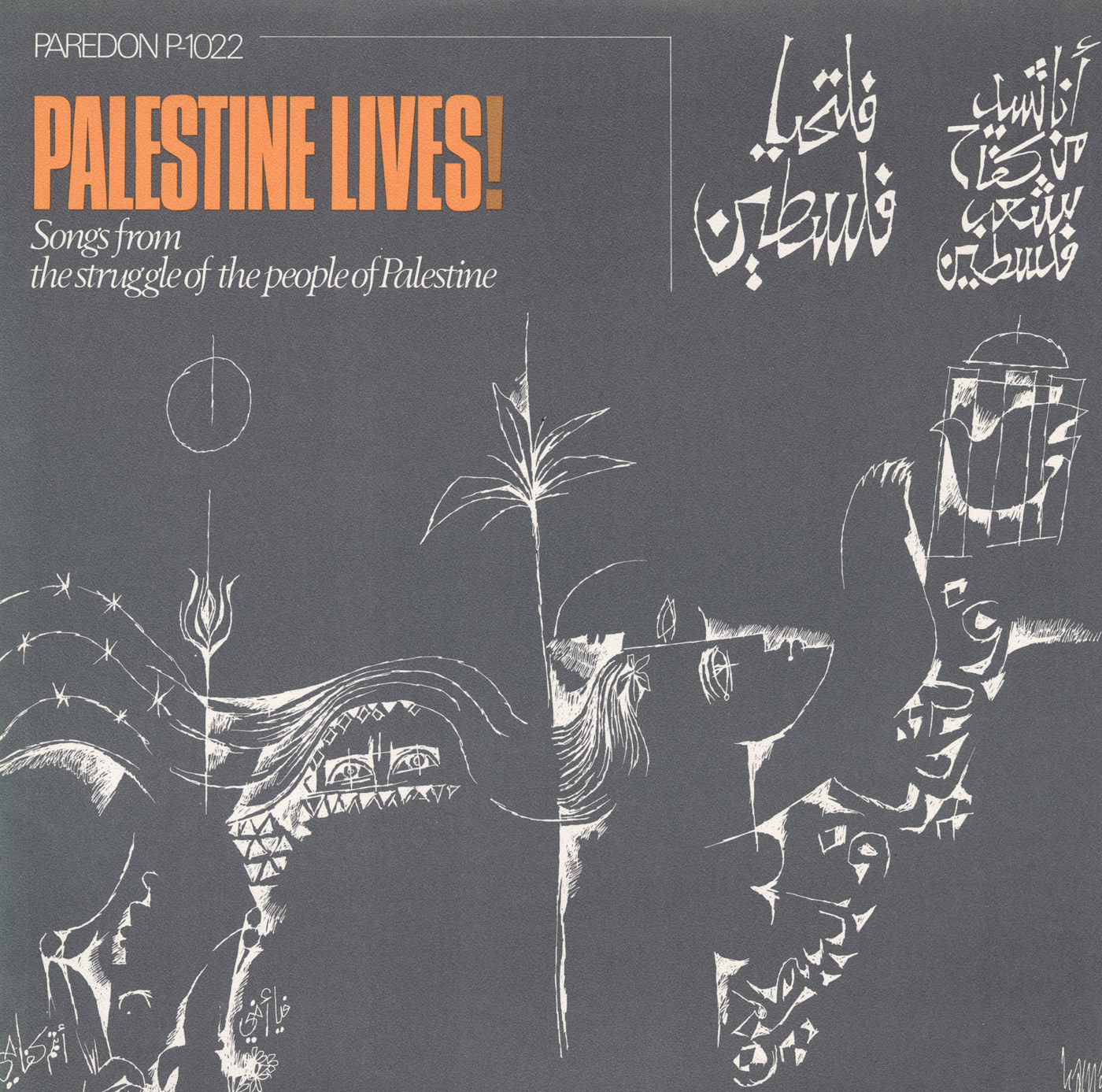 Palestine Lives!: Songs from the Struggle of the People of