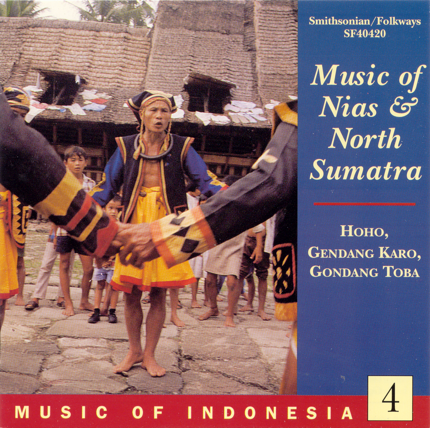 Music of Indonesia, Vol  4: Music of Nias and North Sumatra