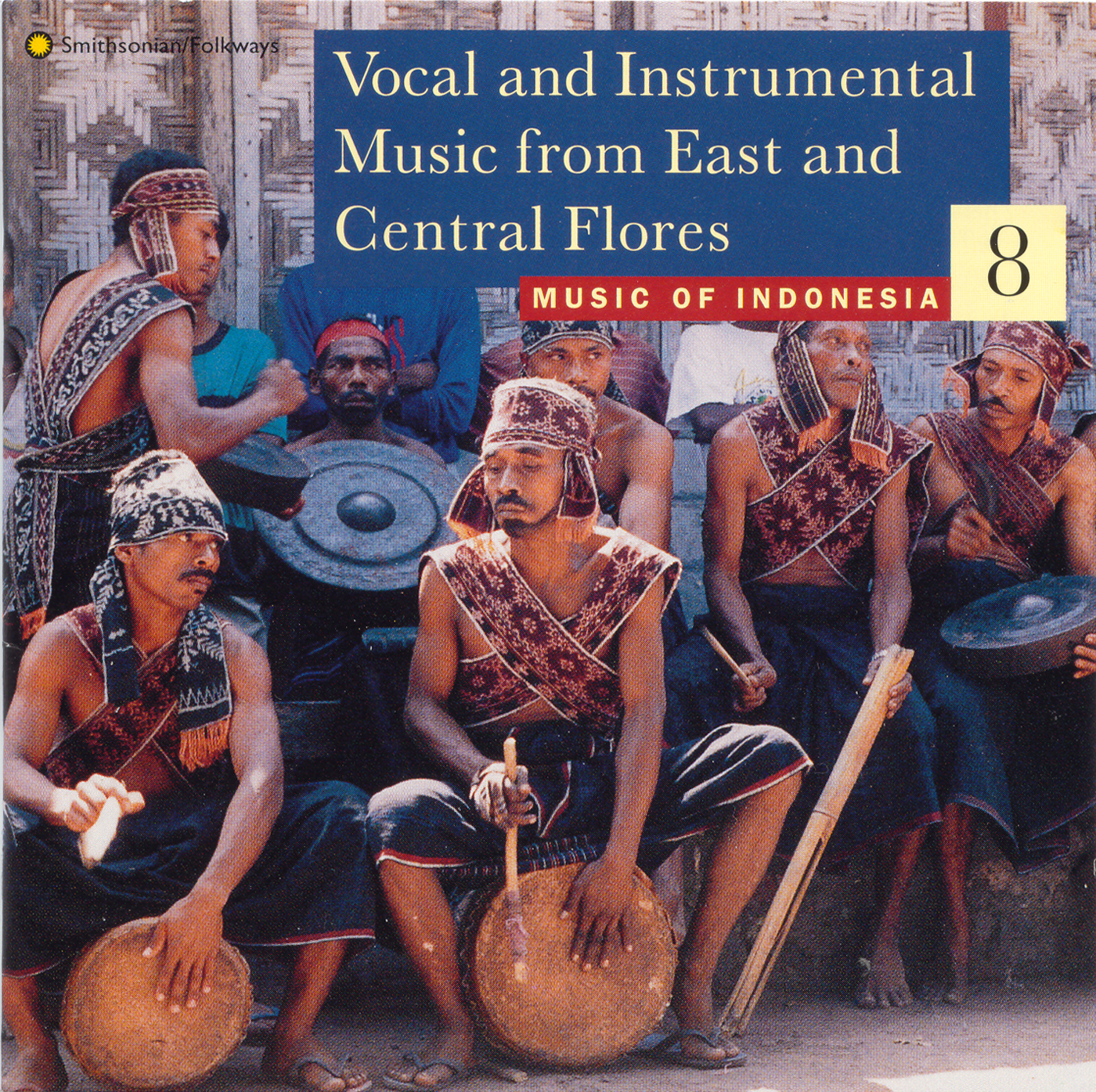 Music of Indonesia, Vol  8: Vocal and Instrumental Music
