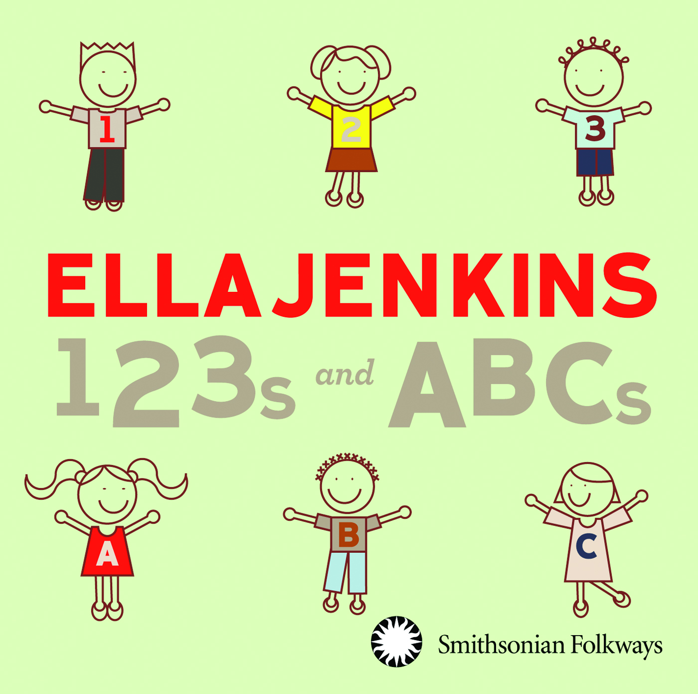 123s and ABCs | Smithsonian Folkways Recordings