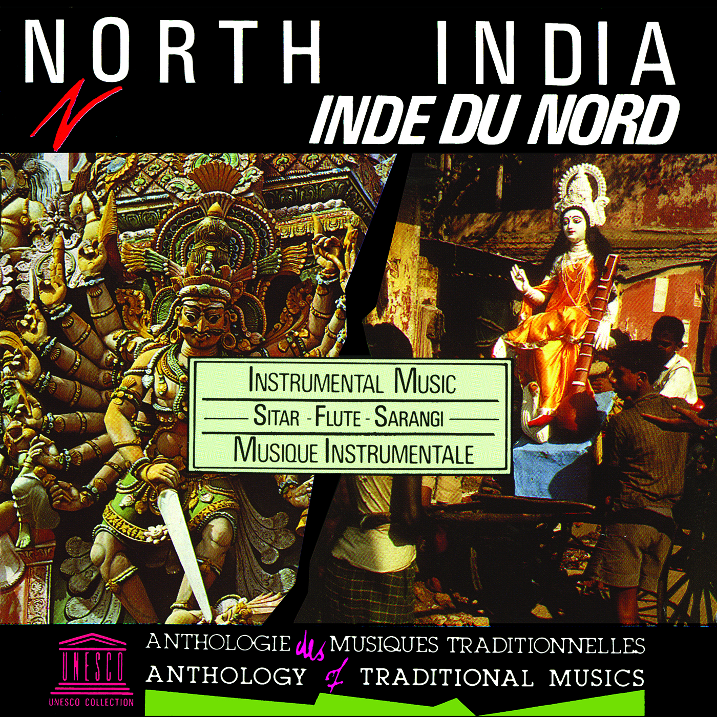 North India: Instrumental Music - Sitar, Flute, Sarangi