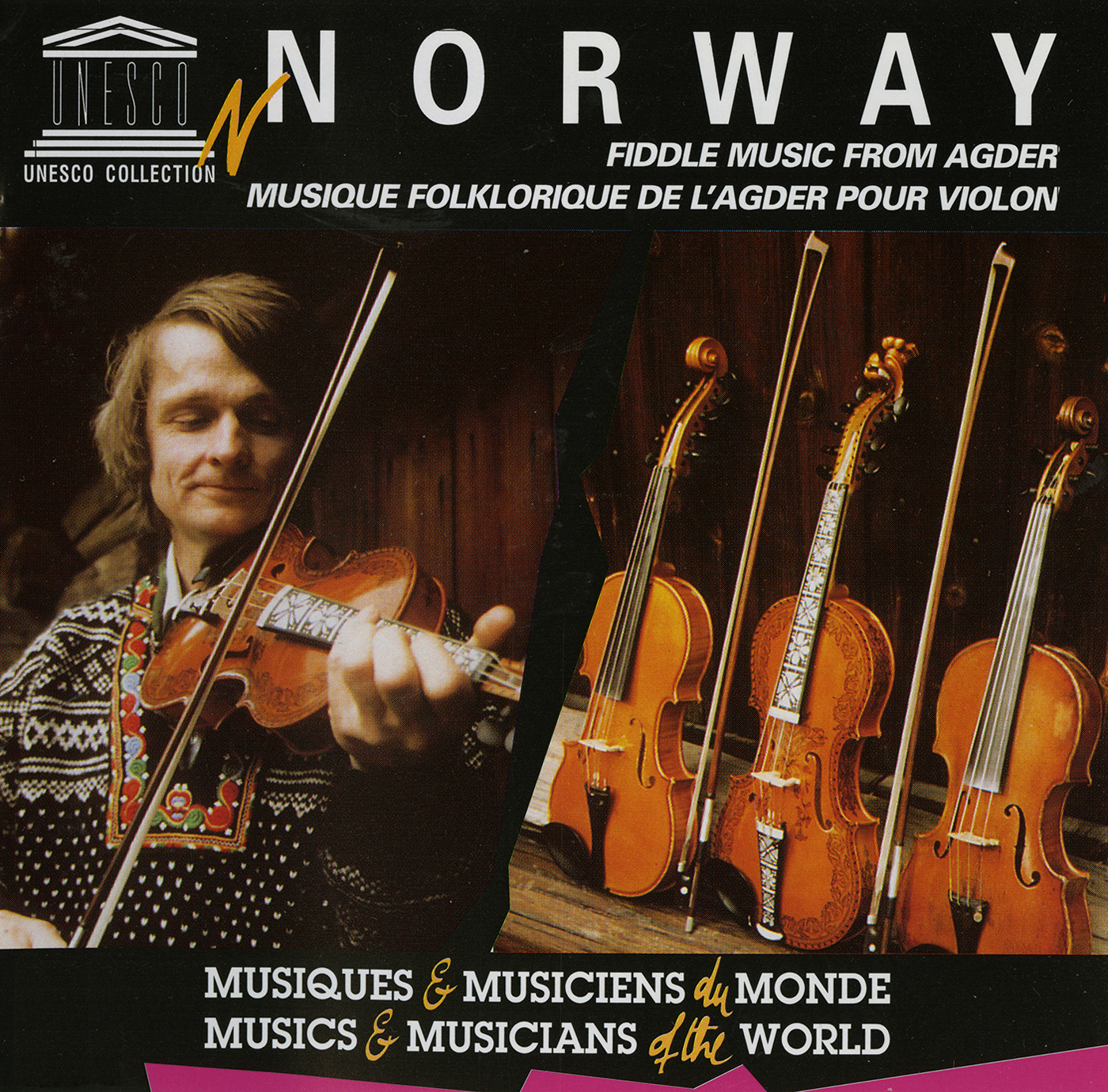 Norway: Fiddle and Hardanger Fiddle Music from Agder