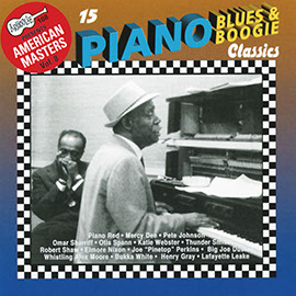 15 Piano Blues & Boogie Classics