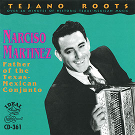 Father of the Texas-Mexican Conjunto album cover