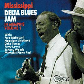 Mississippi Delta Blues Jam In Memphis, Vol. 1