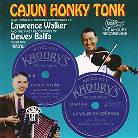Cajun Honky Tonk: The Khoury Recordings