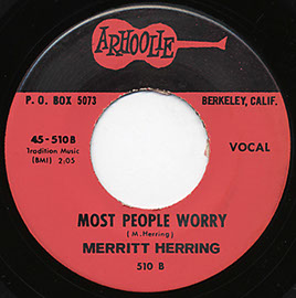 Talkin' Protest Blues / Most People Worry