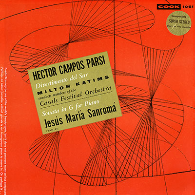 Campos Parsi: Divertimento del Sur / Sonata in G for Piano