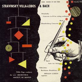 Stravinsky, Villa Lobos, and Bach