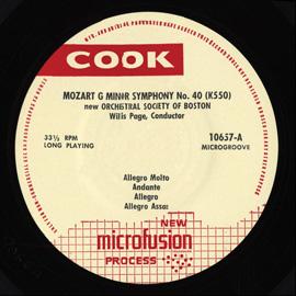 Mozart, Symphony # 40, Beethoven Symphony # 5