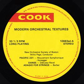 Modern Orchestral Texture