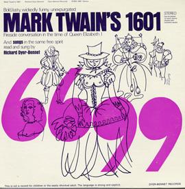 """Mark Twain's """"1601"""""""