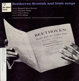 Richard Dyer-Bennet, Volume 7: Beethoven Scottish and Irish Songs