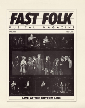 Fast Folk Musical Magazine (Vol. 1, No. 4) Live at the Bottom Line