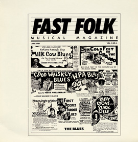 Fast Folk Musical Magazine (Vol. 1, No. 6) The Blues
