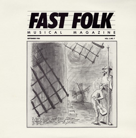 Fast Folk Musical Magazine (Vol. 1, No. 7)