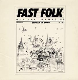 Fast Folk Musical Magazine (Vol. 1, No. 8) Women in Song