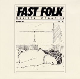 Fast Folk Musical Magazine (Vol. 1, No. 9)