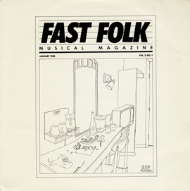 Fast Folk Musical Magazine (Vol. 2, No. 1)