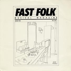 Fast Folk Musical Magazine (Vol. 2, No. 1)