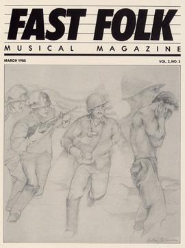 Fast Folk Musical Magazine (Vol. 2, No. 3)