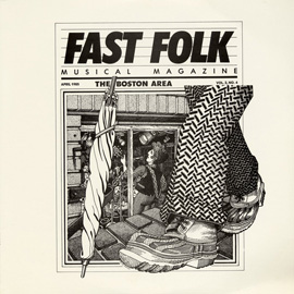Fast Folk Musical Magazine (Vol. 2, No. 4) The Boston Area