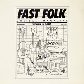Fast Folk Musical Magazine (Vol. 2, No. 9) Women in Song
