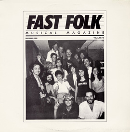 Fast Folk Musical Magazine (Vol. 2, No. 10)