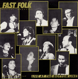 Fast Folk Musical Magazine (Vol. 3, No. 6) Live at the Bottom Line