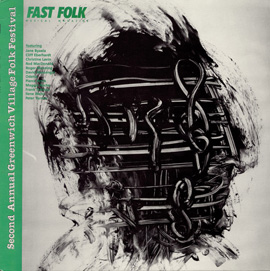 Fast Folk Musical Magazine (Vol. 4, No. 10) Second Annual Greenwich Village Folk Festival
