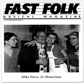 Fast Folk Musical Magazine (Vol. 6, No. 2) Mike Porco In Memoriam