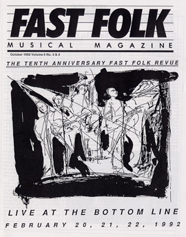 Fast Folk Musical Magazine (Vol. 6, No.3) Tenth Anniversary-Live at the Bottom Line 1992