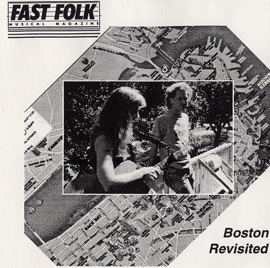 Fast Folk Musical Magazine (Vol. 6, No. 6) Boston Revisited