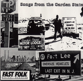 Fast Folk Musical Magazine (Vol. 6, No. 7) Songs from the Garden State
