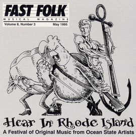 Fast Folk Musical Magazine (Vol. 8, No. 3) Hear in Rhode Island